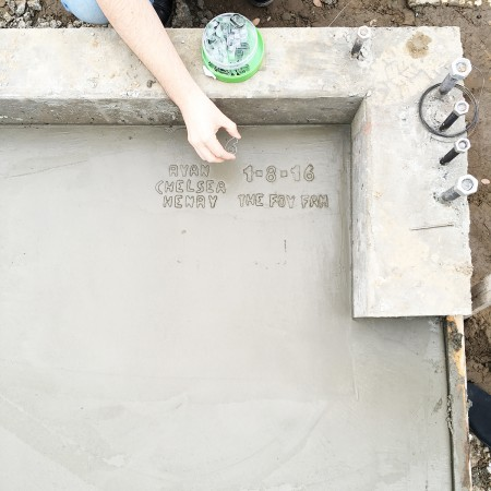 How to Write Your Name In Cement Without Making a Mess
