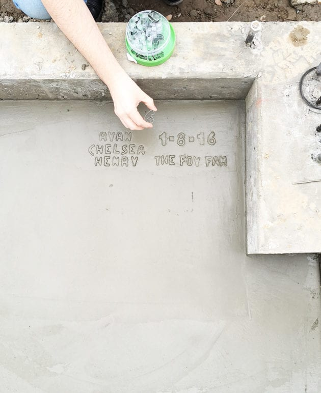How to Write Your Name In Cement Without Making a Mess thumbnail