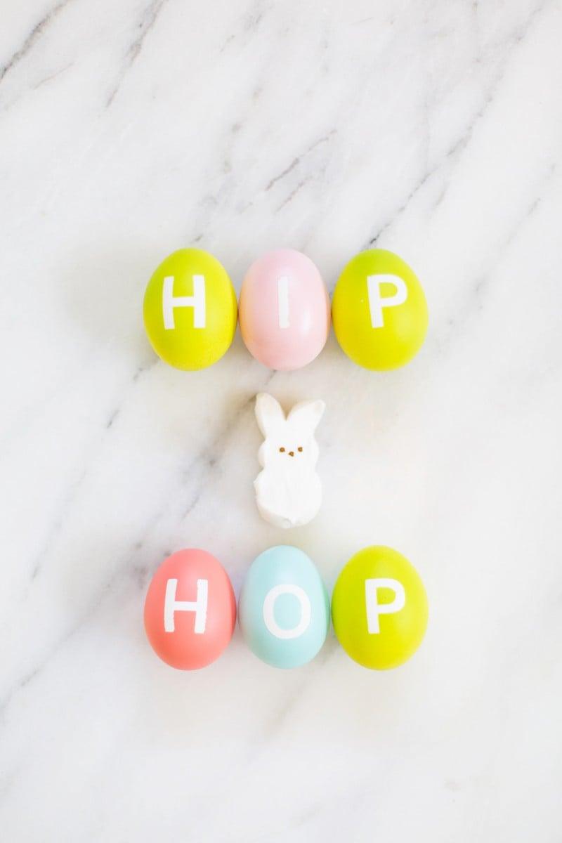 DIY Alphabet Easter Eggs