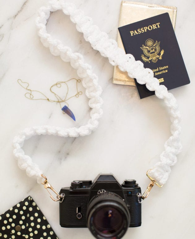 DIY Macrame Camera Strap thumbnail
