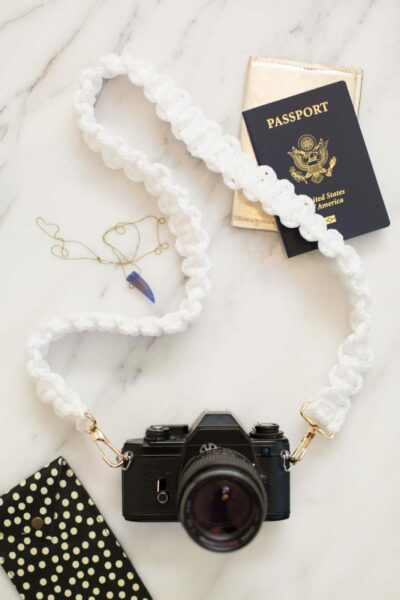 How to Make a Macrame Camera Strap