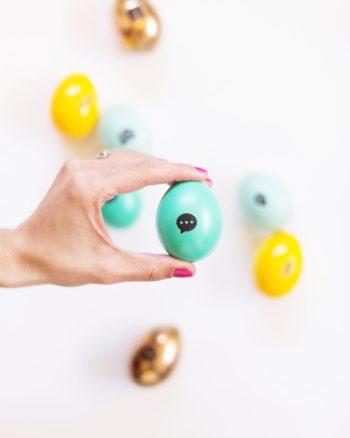 DIY Icon Easter Eggs