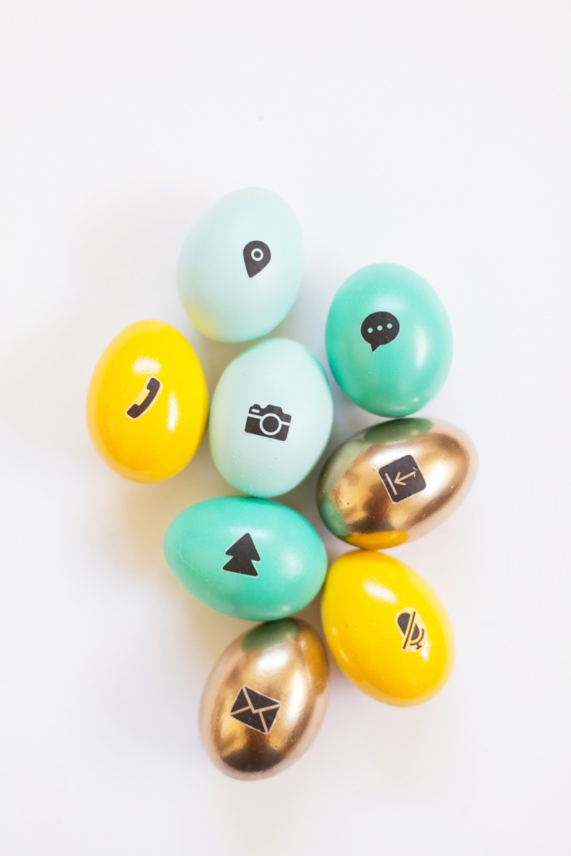 DIY Icon Easter Eggs