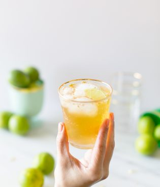 Golden Irish Mule Cocktail for St. Patrick's Day