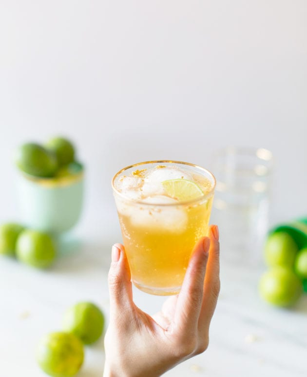 Golden Irish Mule Cocktail for St. Patrick's Day thumbnail