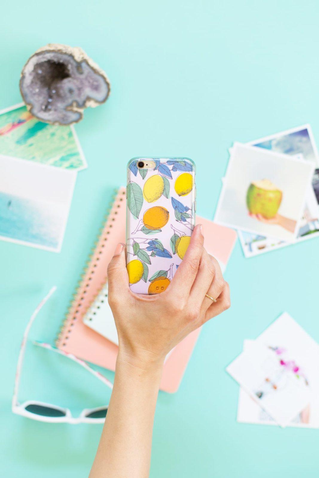 15 DIY Phone Cases (Summer-inspired
