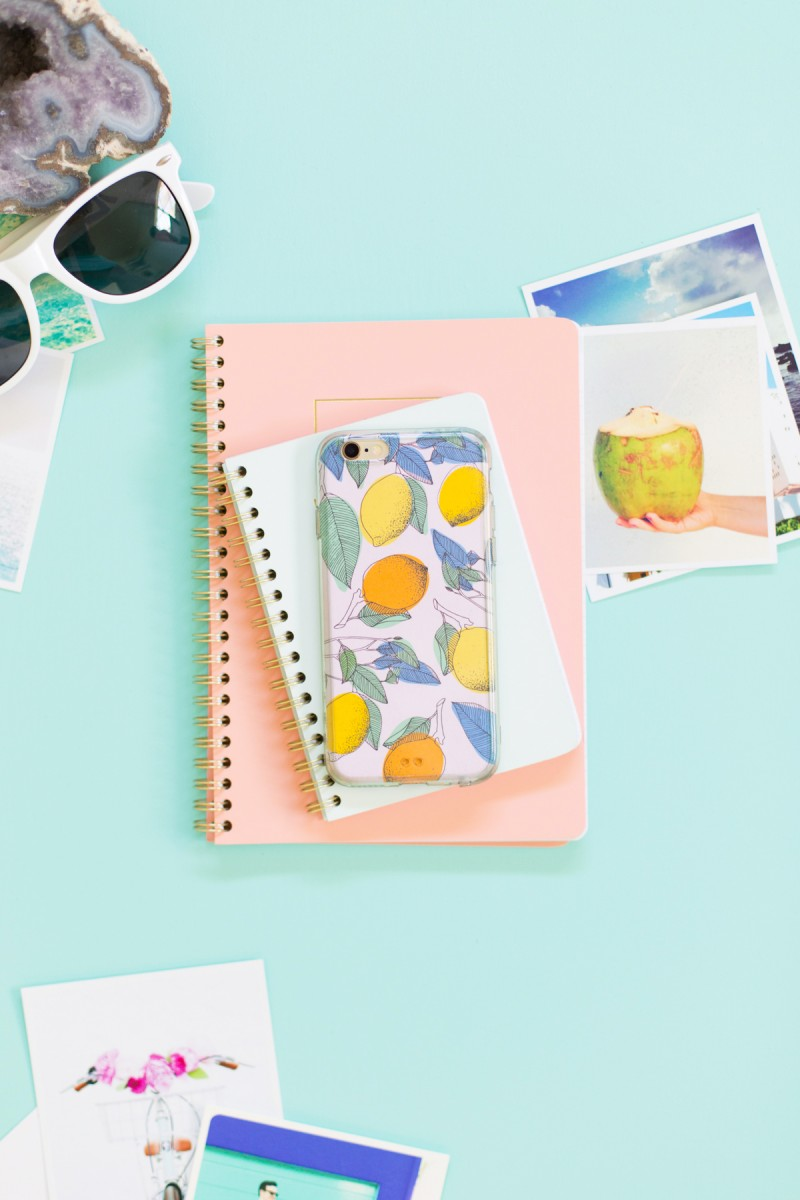 Printable Summer Cell Phone Cases