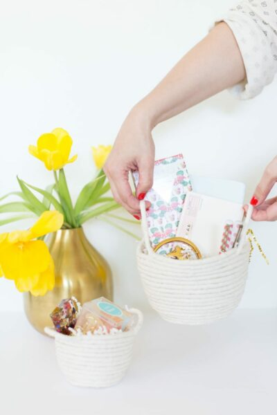 How to Make Rope Easter Baskets