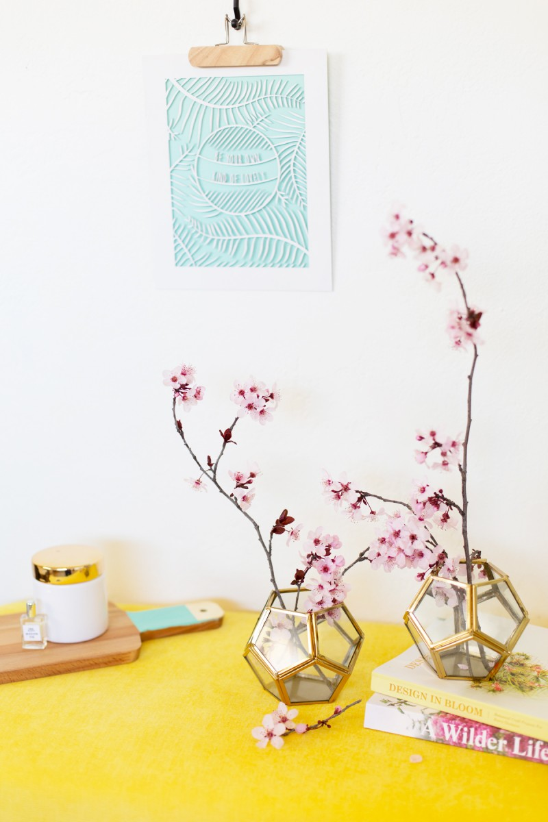Two Minute Spring Decor Refresh