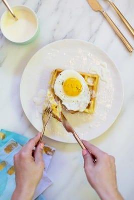 Waffle Croque Madames Recipe