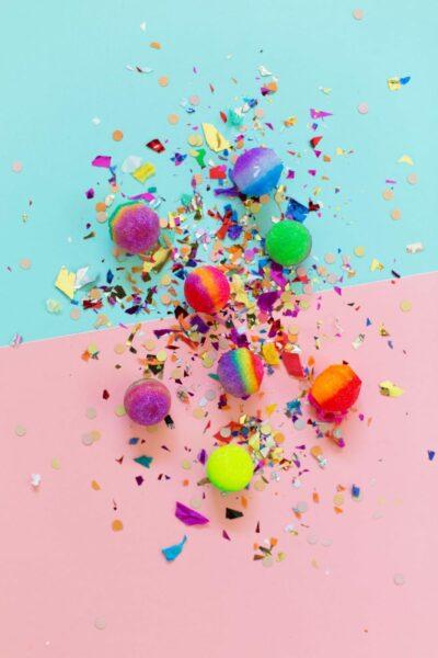 DIY bouncy balls