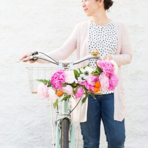 DIY Floral Bike Basket thumbnail
