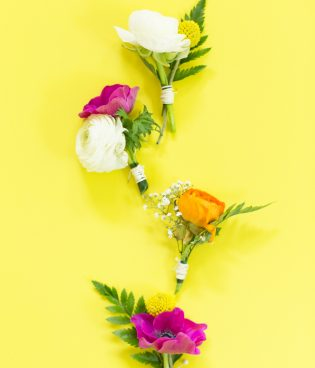 How to Make a  DIY Floral Boutonniere thumbnail