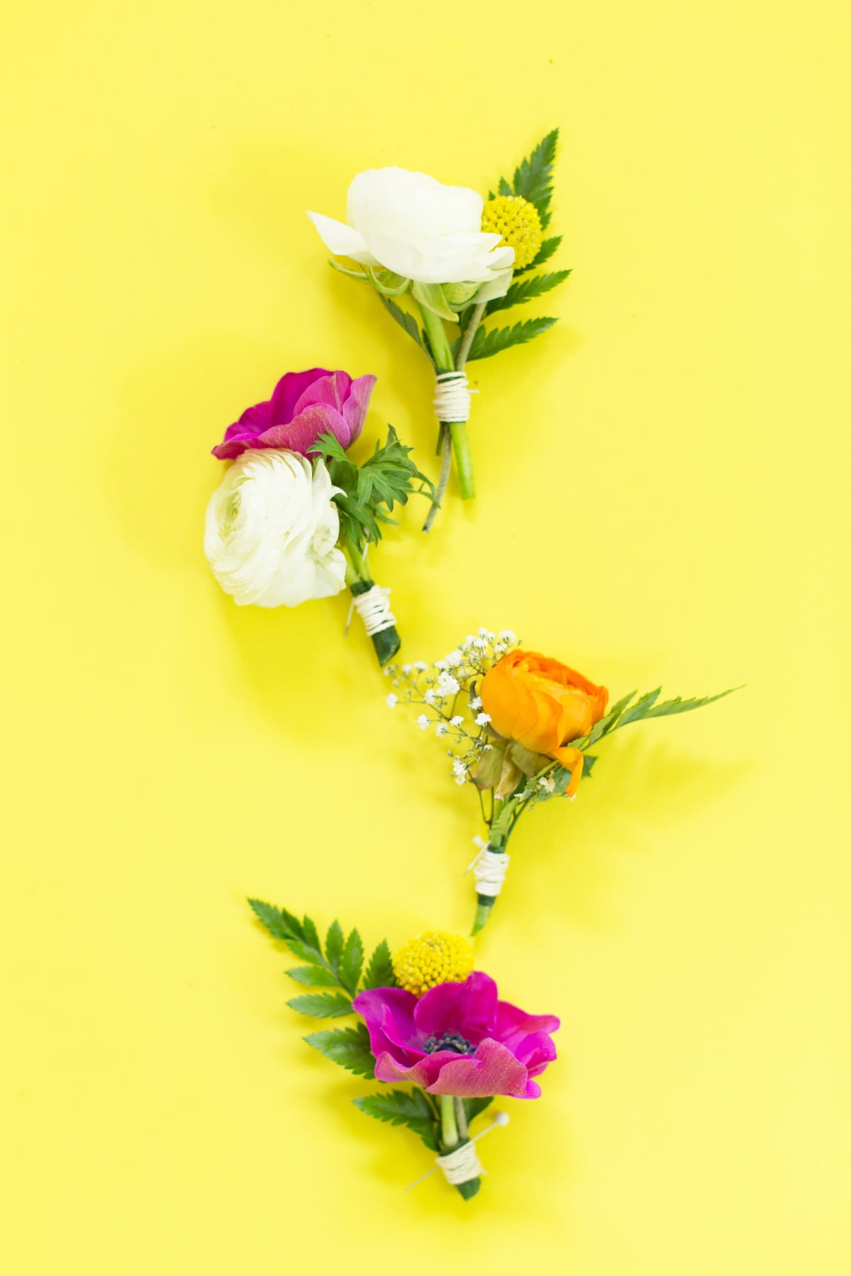 How To Make A Diy Floral Boutonniere Lovely Indeed