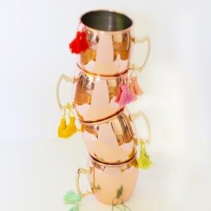 DIY Moscow Mule Mug Tassels thumbnail