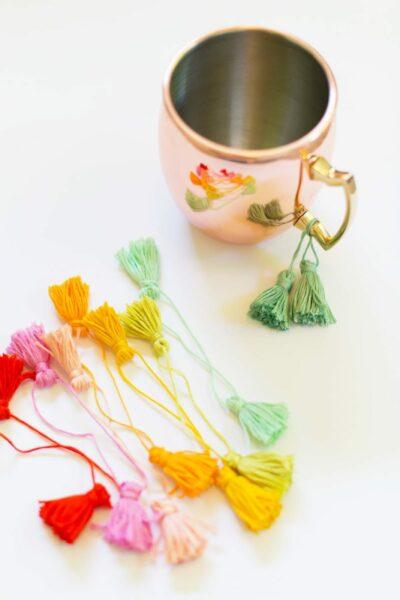 How to Make Moscow Mule Mug Tassels