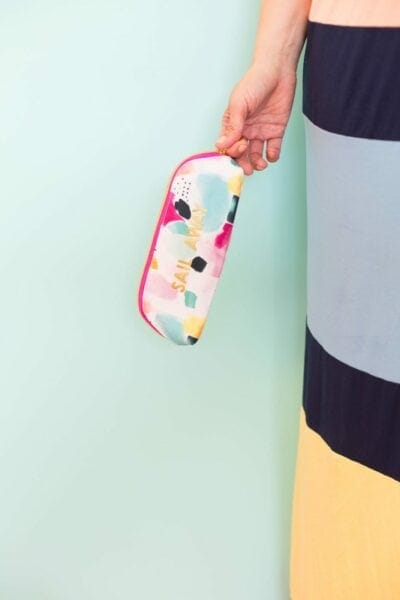How to Make a Custom Gold Travel Pouch