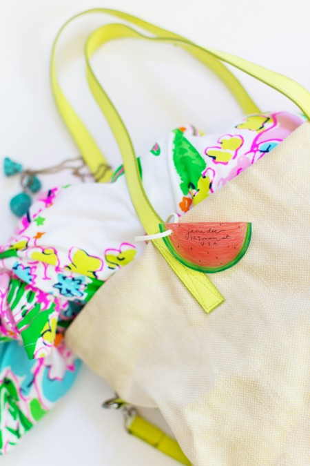 How to Make Shrinky Dink Luggage Tags