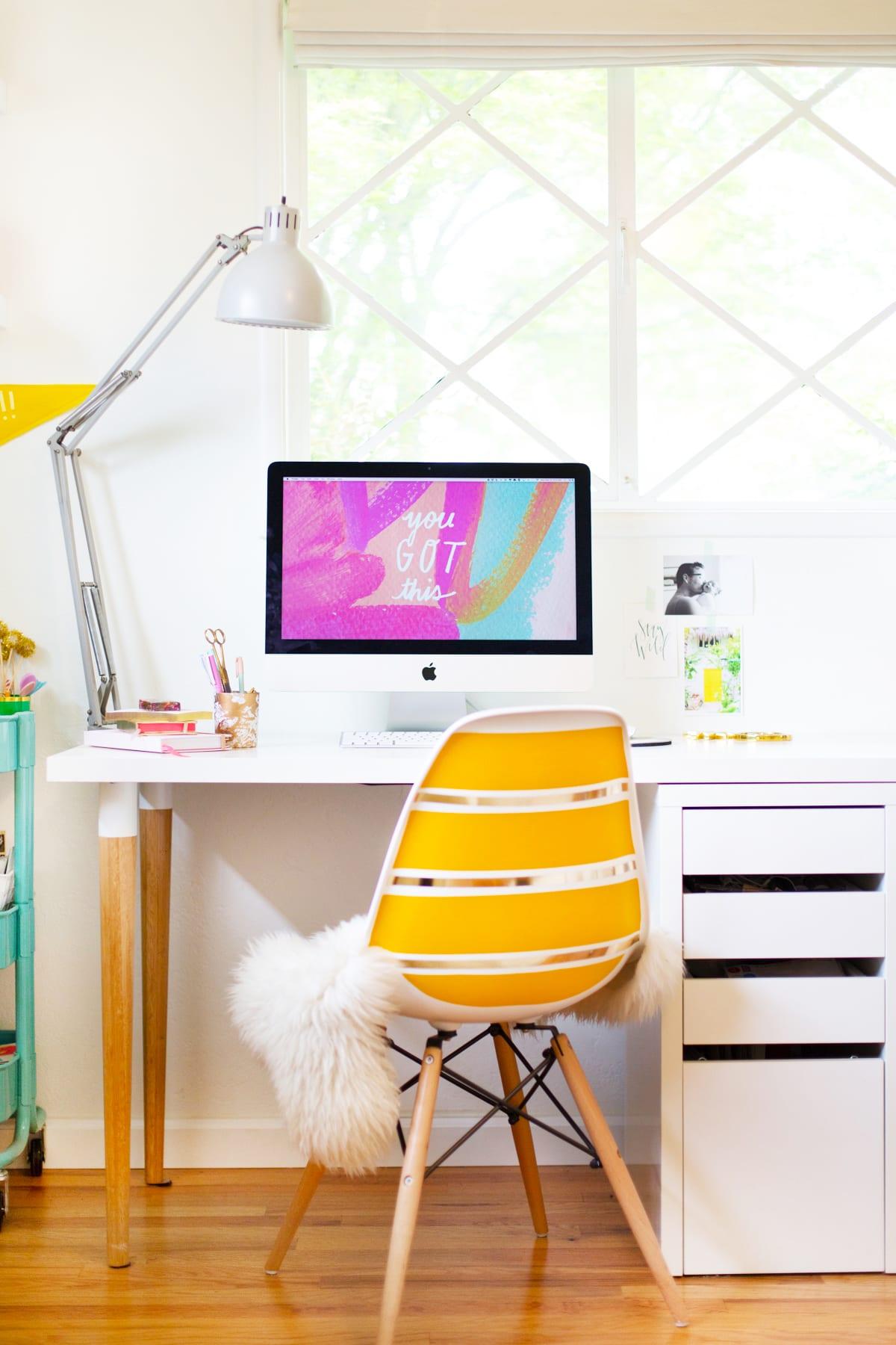 Diy Ikea Desk Hack Lovely Indeed