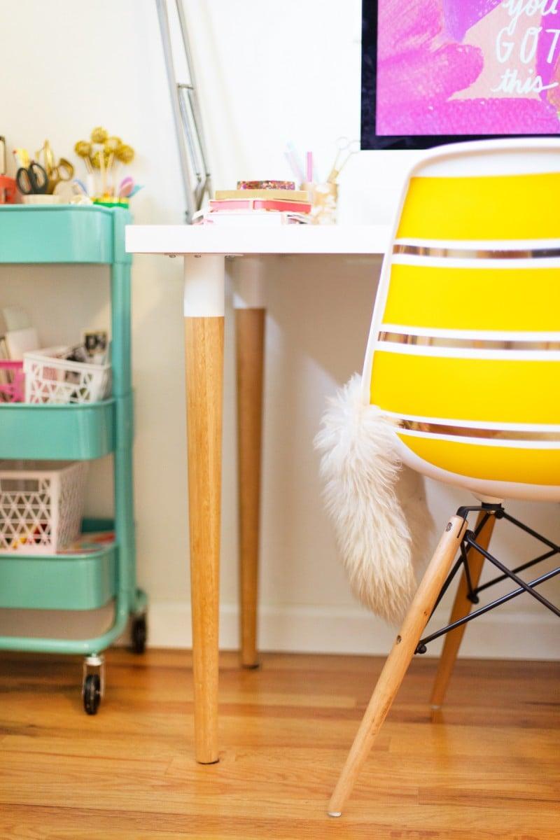 DIY IKEA Desk Hack