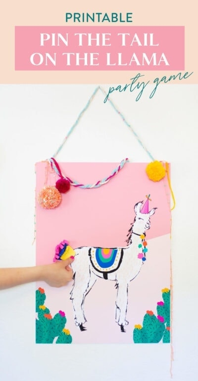 pin the tail on the llama game
