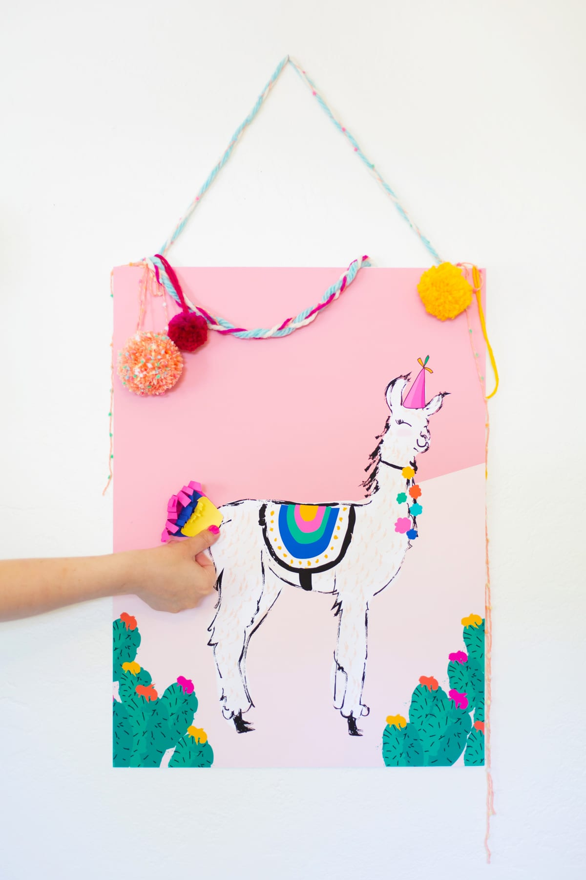 Pin The Tail On The Llama Game For Cinco De Mayo 187 Lovely