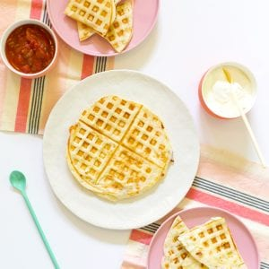 Waffle Quesadilla Recipe thumbnail