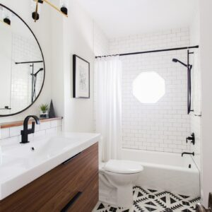 Modern Bathroom Inspiration + a Renovation Update thumbnail
