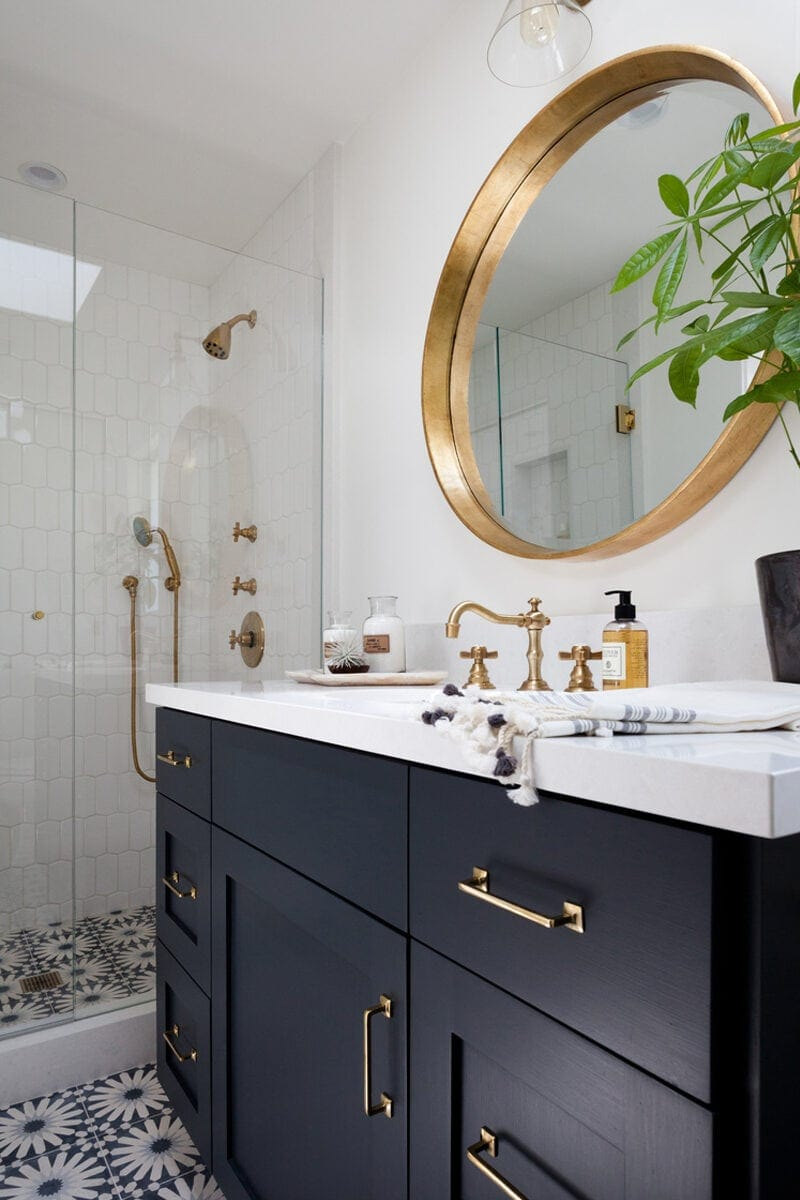Modern Bathroom Inspiration a Renovation Update Lovely Indeed