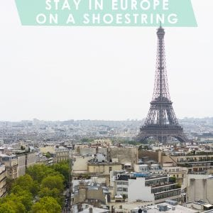 How to Stay in Europe on a Shoestring thumbnail