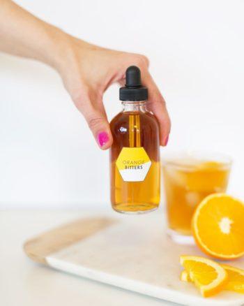 How to make homemade orange bitters
