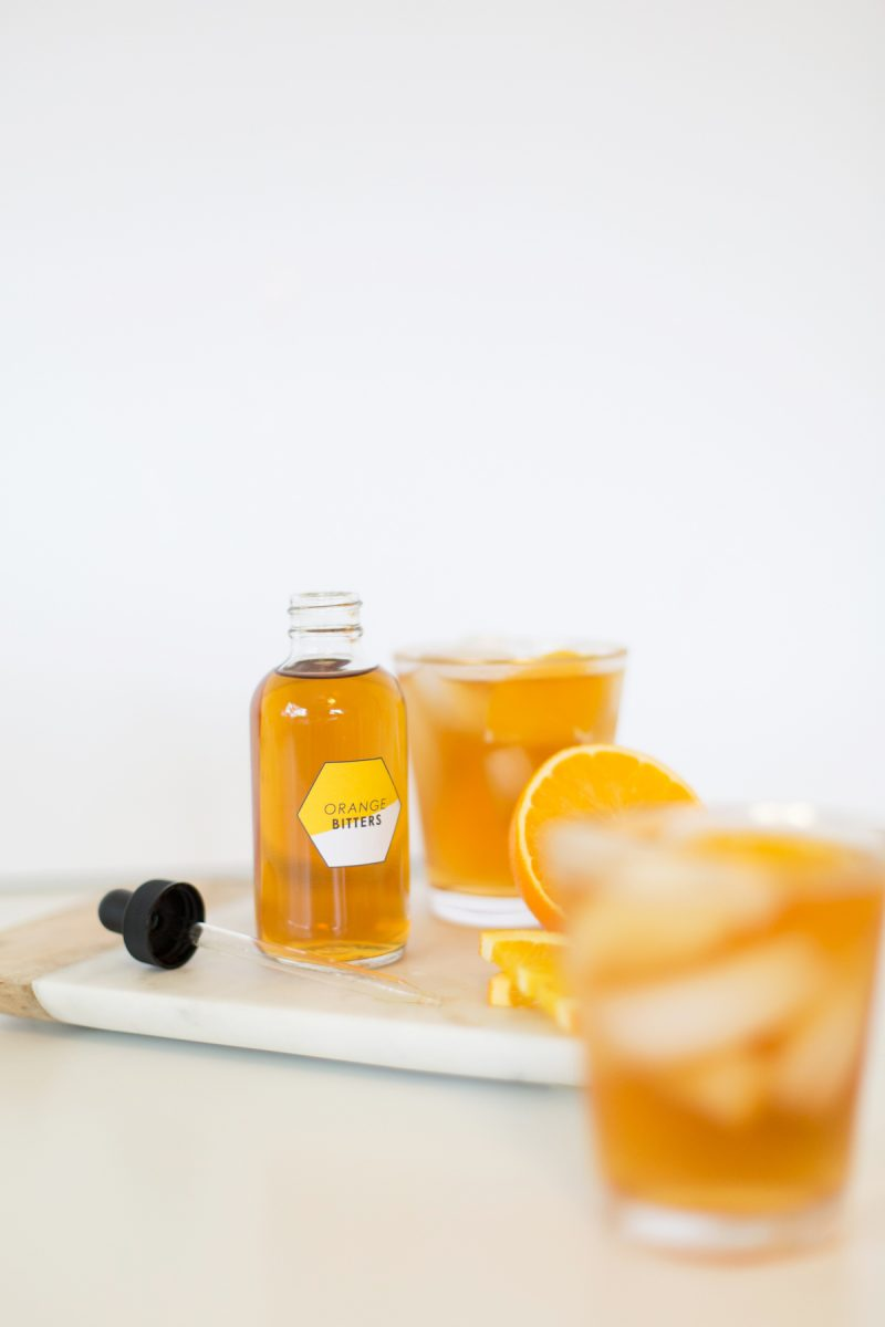 How to make homemade orange bitters