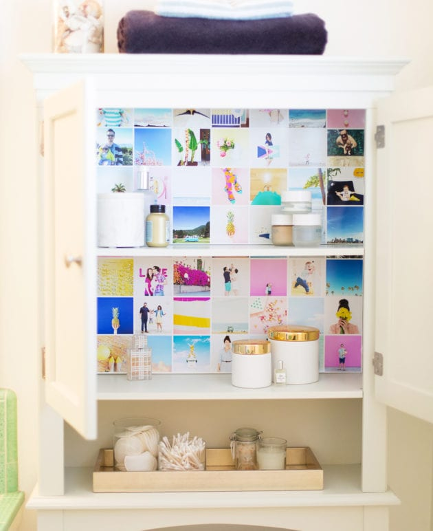 Use Instagram Photos to Wallpaper Your Cabinets thumbnail