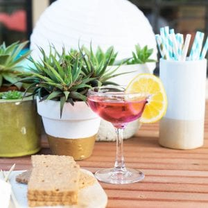 Summer essentials for a backyard party