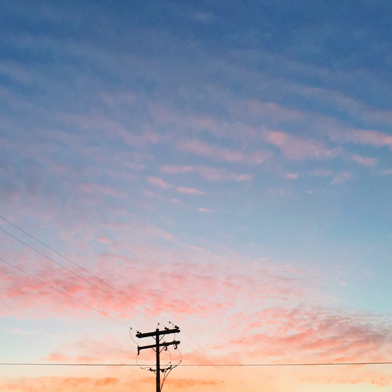 Cotton candy sunrise