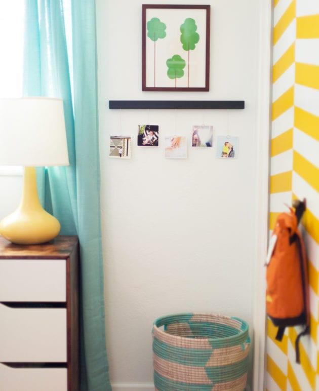 DIY Photo Timeline for a Baby's Nursery thumbnail