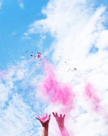 How to make color fight powder for a baby gender reveal