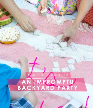 Simple Tips for an Impromptu Backyard Party (And a Bonus Playlist!) thumbnail