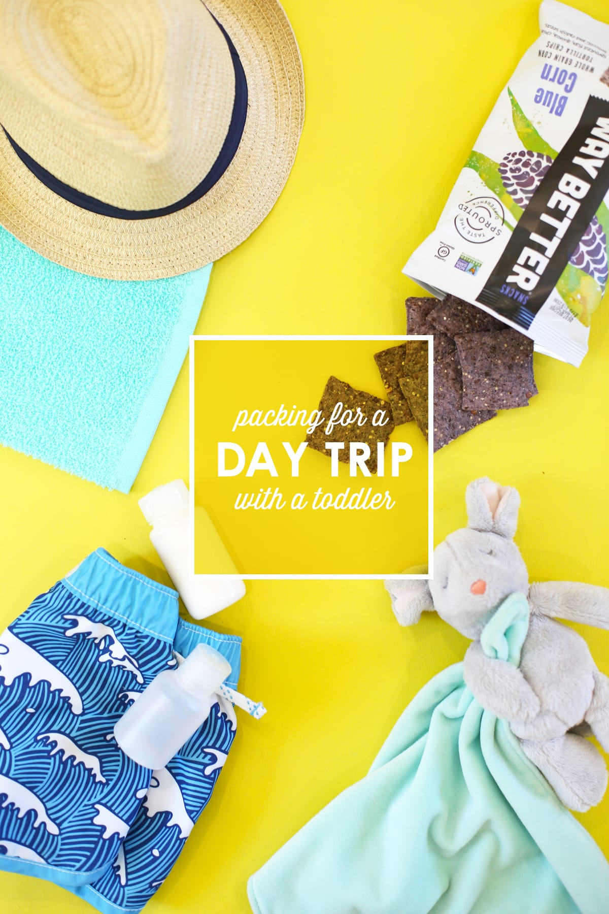 How to Pack for a Day Trip with a Toddler
