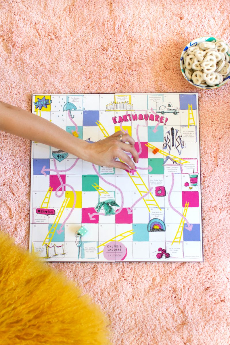 diy los angeles chutes and ladders game lovely indeed