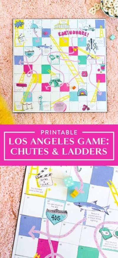 los angeles chutes and ladders game