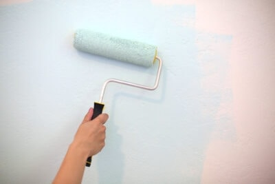 How to Create a Diagonal Painted Accent Wall