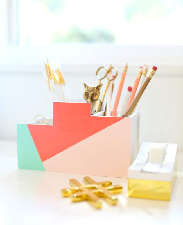 DIY Back to School Desk Organizer thumbnail