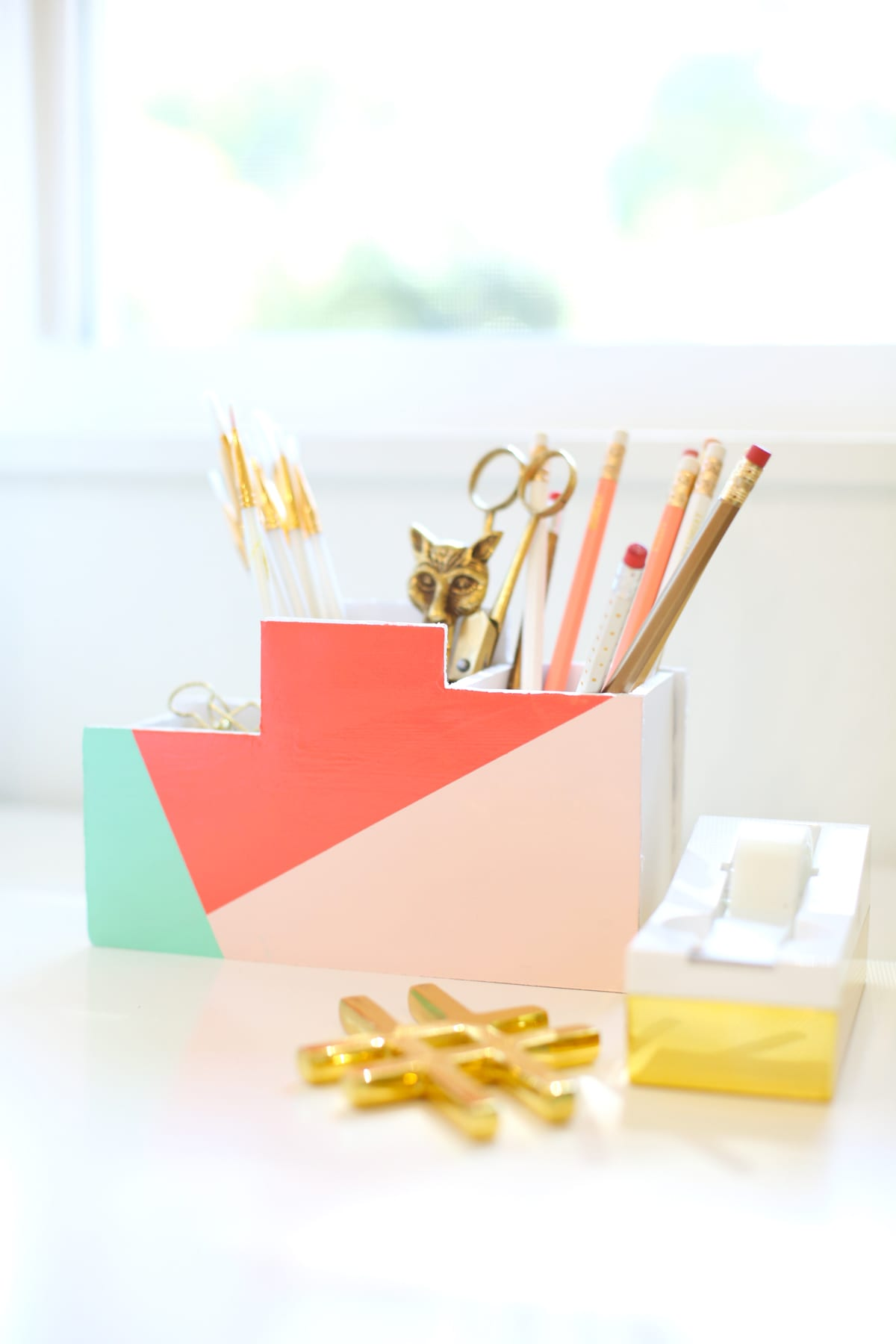 Diy Calendar Supplies : Diy back to school desk organizer lovely indeed