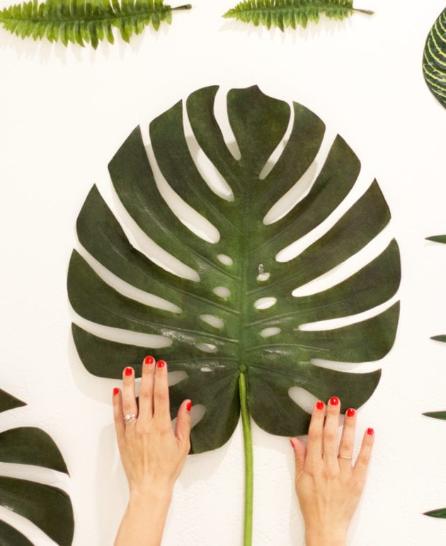 DIY Faux Botanical Photo Backdrop thumbnail