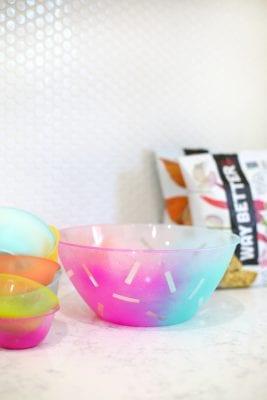 DIY Party Snack Bowls
