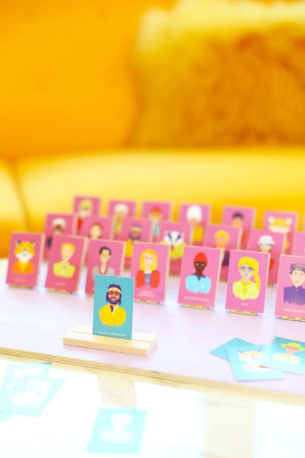 DIY Wes Anderson Guess Who Board Game