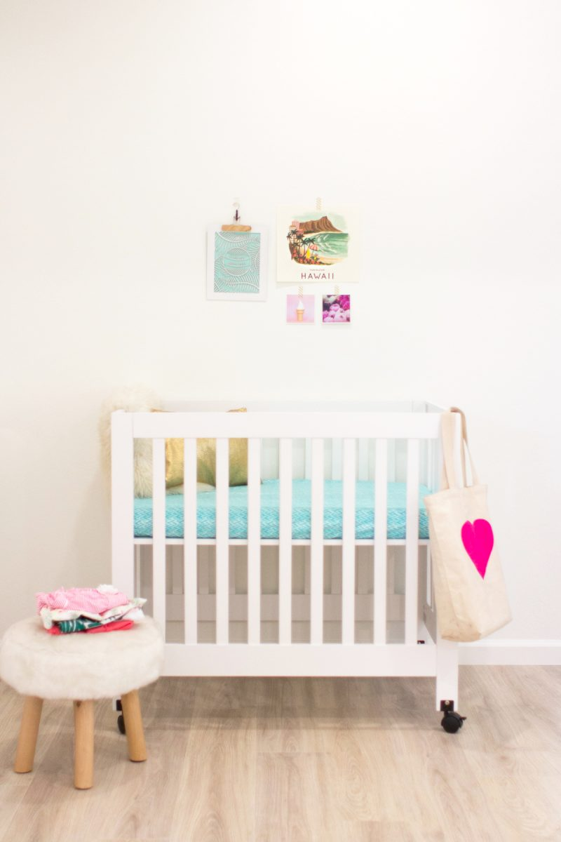 Mini Crib for a Second Baby