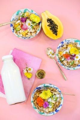 Night Cereal Recipe // Tropical Twist