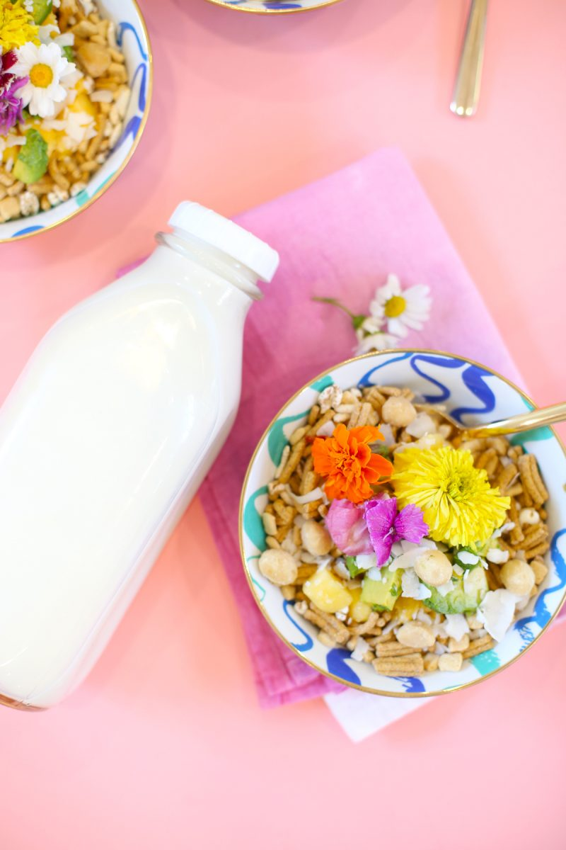 Night Cereal Recipe // Tropical Twist